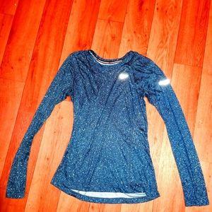 🎀Nike Dri-fit shirt, Green/blue/black, size small